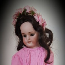 Muñecas Porcelana: ANTIGUA MUÑECA AUTOMATA A.LANDER ,CABEZA SIMON HALBING 1078.. Lote 127738126