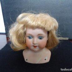 Muñecas Porcelana: CABEZA DE MUÑECA DE PORCELANA A.M.. Lote 128415603