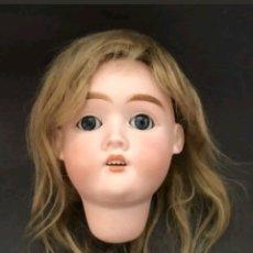 Muñecas Porcelana: CABEZA DE PORCELANA ALEMANA MAX HANDWERCK. Lote 128852698
