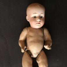 Muñecas Porcelana: BEBÉ GEBRUDER HEUBACH MOLDE 7602 18 CM. Lote 129687303
