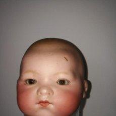 Muñecas Porcelana: CABEZA DE MUÑECO PORCELANA. Lote 130514342