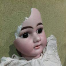 Muñecas Porcelana: MUÑECA CON CABEZA DE PORCELANA ARMAND MARSEILLE, CON MARCAS EN LA NUCA AM 11 DEP, ALEMANIA. Lote 62568576