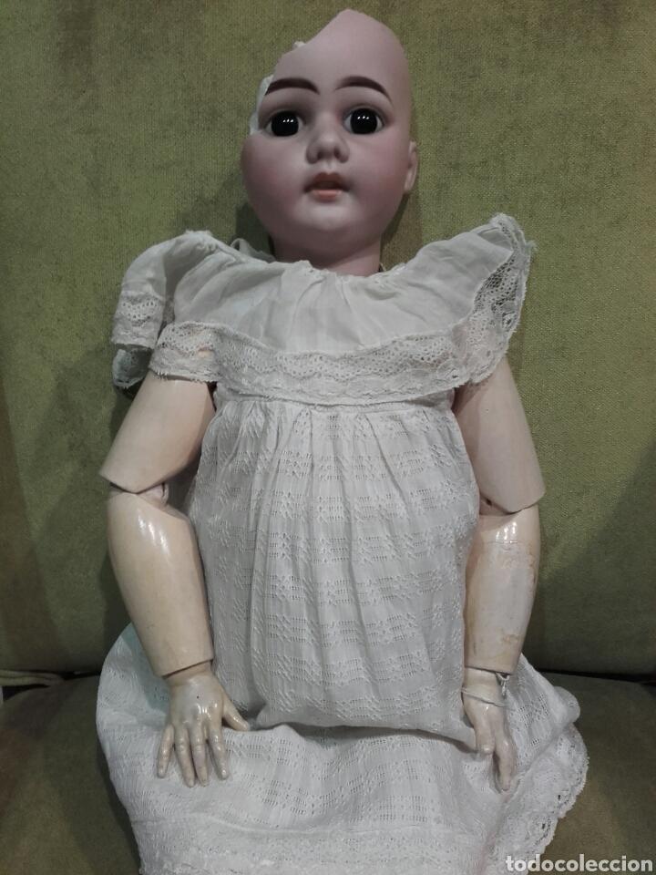 Muñecas Porcelana: MUÑECA CON CABEZA DE PORCELANA ARMAND MARSEILLE, CON MARCAS EN LA NUCA AM 11 DEP, ALEMANIA. - Foto 4 - 62568576