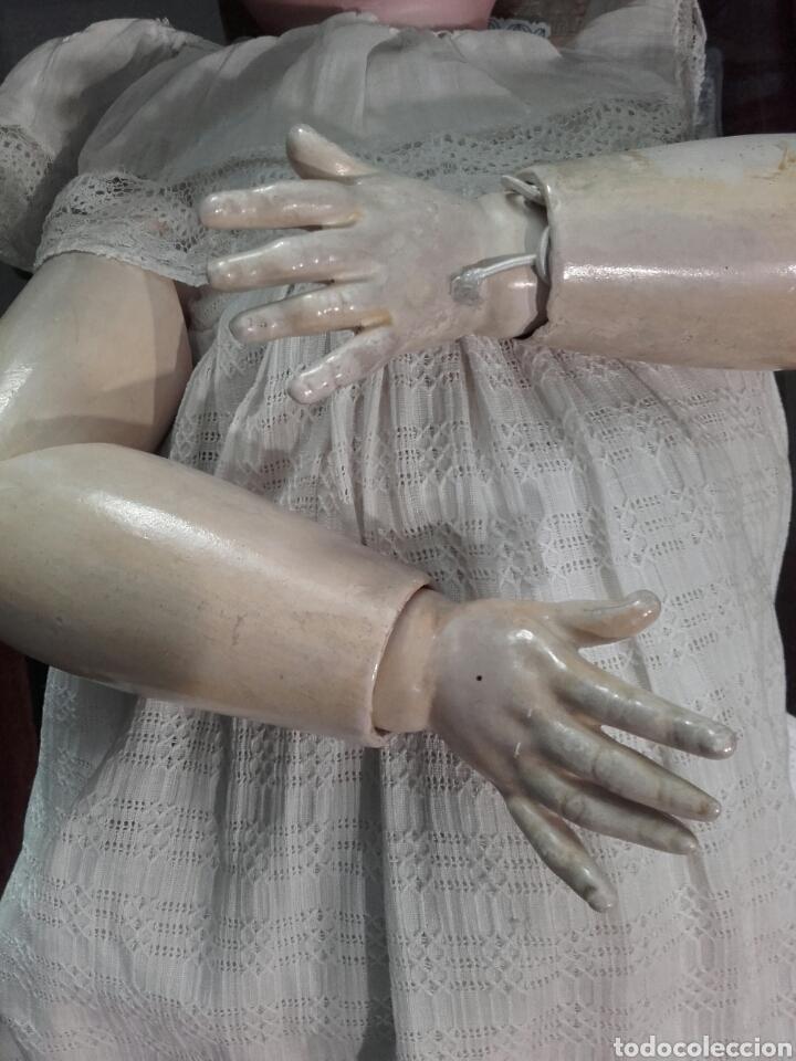 Muñecas Porcelana: MUÑECA CON CABEZA DE PORCELANA ARMAND MARSEILLE, CON MARCAS EN LA NUCA AM 11 DEP, ALEMANIA. - Foto 5 - 62568576