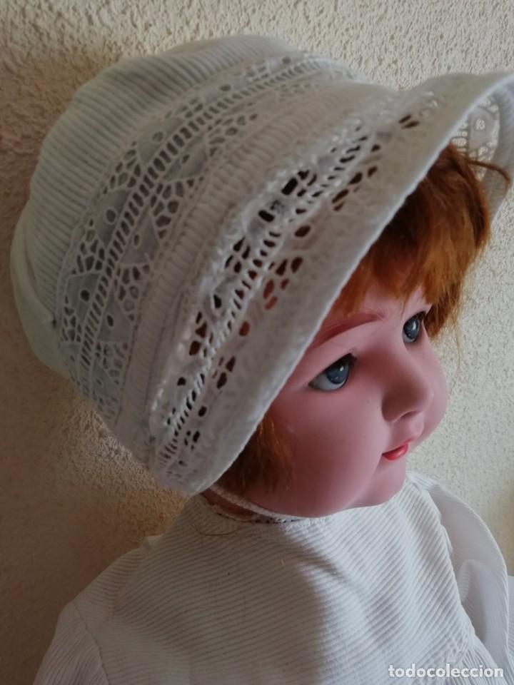Muñecas Porcelana: Bebé carácter porcelana Heubach Köppelsdorf 58cm molde 320 - Foto 2 - 131720666