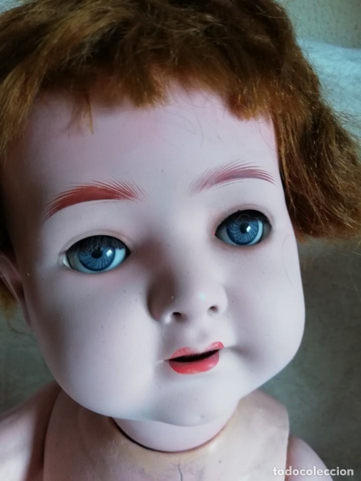 Muñecas Porcelana: Bebé carácter porcelana Heubach Köppelsdorf 58cm molde 320 - Foto 3 - 131720666