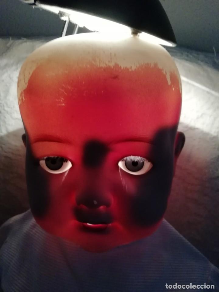 Muñecas Porcelana: Bebé carácter porcelana Heubach Köppelsdorf 58cm molde 320 - Foto 14 - 131720666