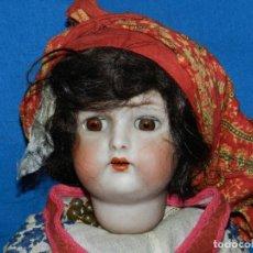 Muñecas Porcelana: (M) MUÑECA DE PORCELANA ANTIGIA BOCA ABIERTA , GERMANY 30 , MARCA EN EL CUELLO, VER FOTOGRAFIAS. Lote 131729958