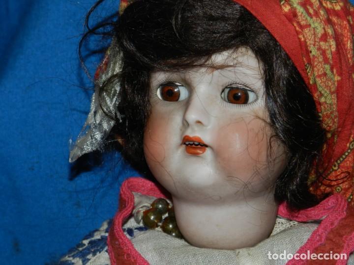 Muñecas Porcelana: (M) MUÑECA DE PORCELANA ANTIGIA BOCA ABIERTA , GERMANY 30 , MARCA EN EL CUELLO, VER FOTOGRAFIAS - Foto 2 - 131729958