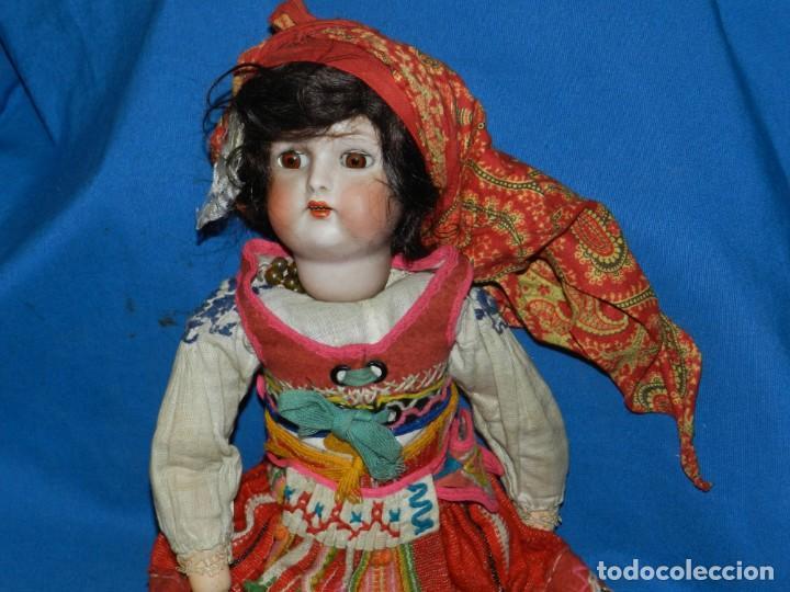 Muñecas Porcelana: (M) MUÑECA DE PORCELANA ANTIGIA BOCA ABIERTA , GERMANY 30 , MARCA EN EL CUELLO, VER FOTOGRAFIAS - Foto 3 - 131729958