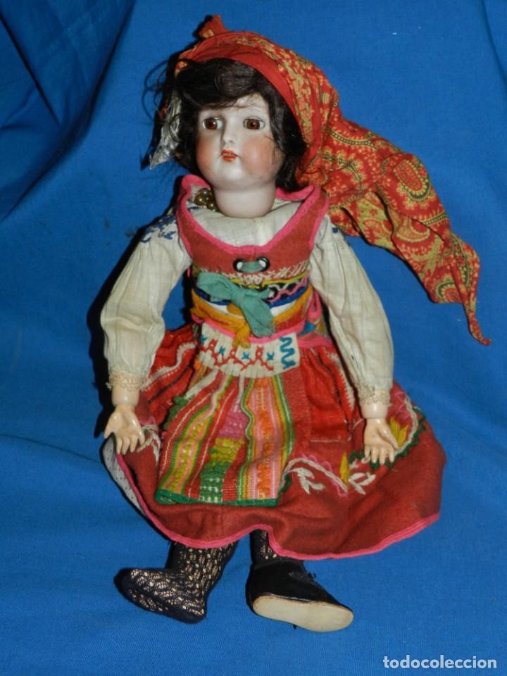 Muñecas Porcelana: (M) MUÑECA DE PORCELANA ANTIGIA BOCA ABIERTA , GERMANY 30 , MARCA EN EL CUELLO, VER FOTOGRAFIAS - Foto 4 - 131729958