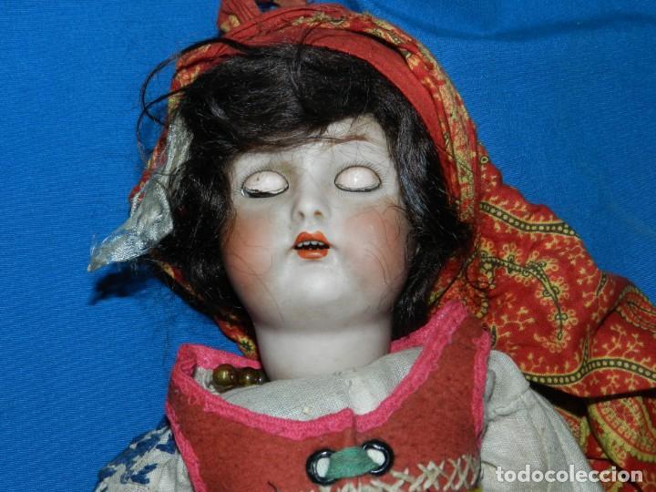 Muñecas Porcelana: (M) MUÑECA DE PORCELANA ANTIGIA BOCA ABIERTA , GERMANY 30 , MARCA EN EL CUELLO, VER FOTOGRAFIAS - Foto 5 - 131729958
