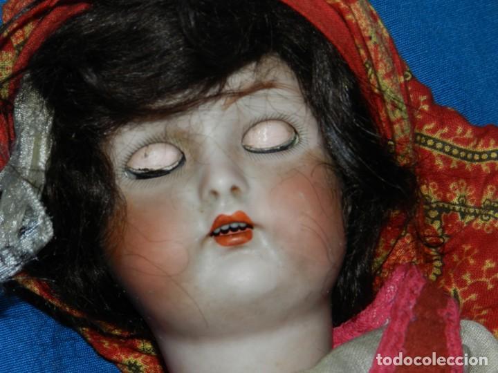 Muñecas Porcelana: (M) MUÑECA DE PORCELANA ANTIGIA BOCA ABIERTA , GERMANY 30 , MARCA EN EL CUELLO, VER FOTOGRAFIAS - Foto 6 - 131729958