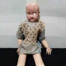 Muñecas Porcelana - Antigua muñeca de 1894 A.M. DEP alemana - 132477486