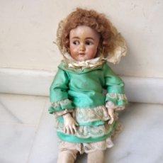 Muñecas Porcelana: ANTIGUA MUÑECA ALEMANA,A RESTAURAR. Lote 133504481