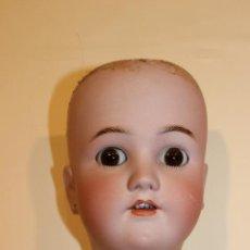 Muñecas Porcelana: CABEZA DE PORCELANA DE LA MARCA SIMON HALBIG HEINRICH HSNDWERCK. Lote 133762602