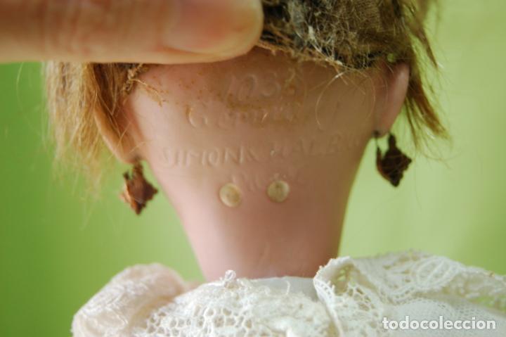 Muñecas Porcelana: simon halbig caminadora 1039 - Foto 7 - 134178718