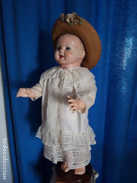 Muñecas Porcelana: BEBE ALEMÁN ,DE GRAN DIMENSIÓN(57CM) ,DE PIERNAS RECTAS ,POCO USUAL,AÑOS 30(PRECIO ESPECIAL) - Foto 6 - 135715051