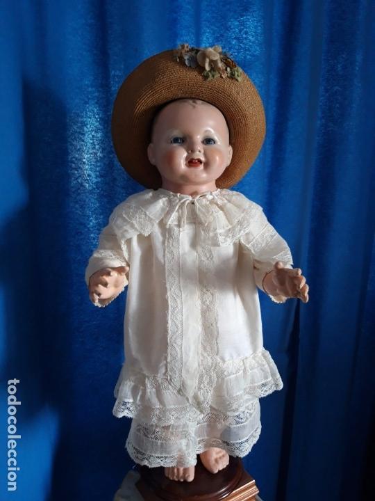 Muñecas Porcelana: BEBE ALEMÁN ,DE GRAN DIMENSIÓN(57CM) ,DE PIERNAS RECTAS ,POCO USUAL,AÑOS 30(PRECIO ESPECIAL) - Foto 9 - 135715051