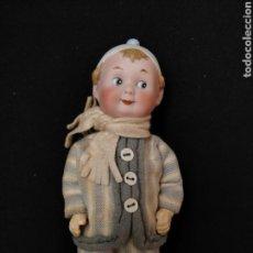 Muñecas Porcelana: MUÑECO GOOGLIE RECKNAGEL 17 CM. Lote 136182916