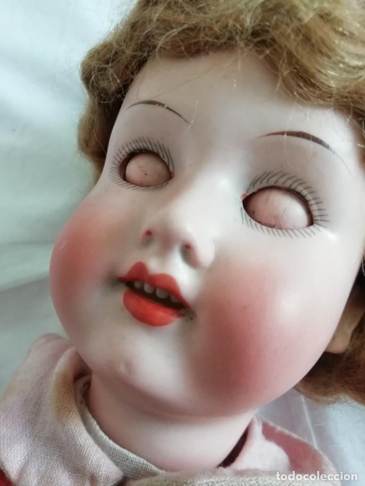 Muñecas Porcelana: Muñeca porcelana Armand Marseille 37cm, molde 390 - Foto 8 - 136263226