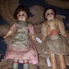 Muñecas Porcelana: PAREJA DE MUÑECAS DE PORCELANA VALENCIANO Y VALENCIANA. Lote 137762314