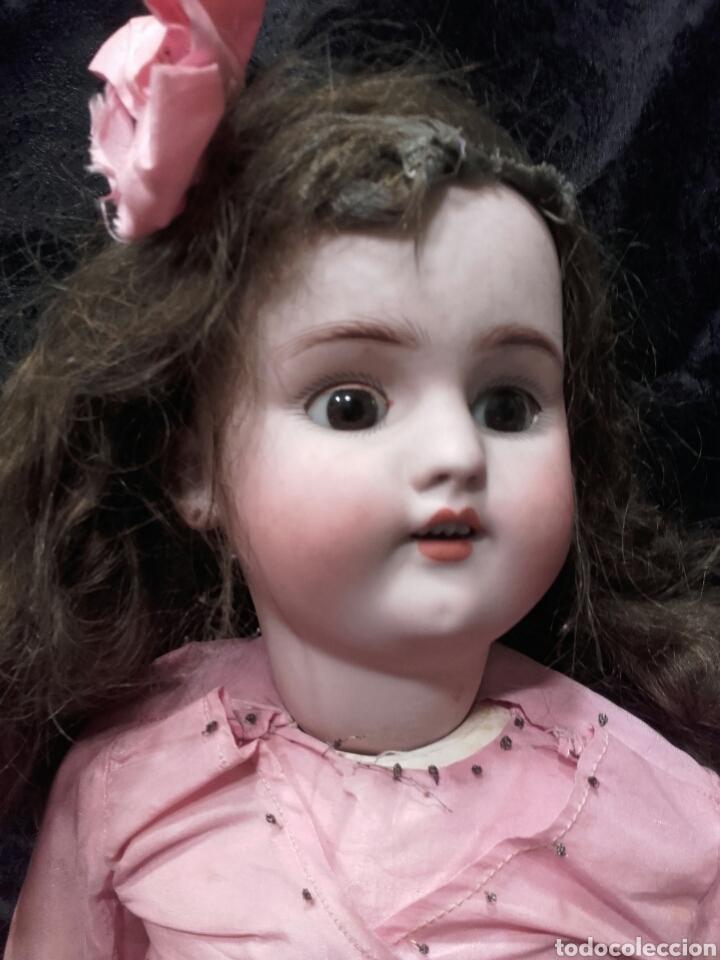 Muñecas Porcelana: PRECIOSA MUÑECA SIMÓN & HALBIG. HACIA 1910. - Foto 2 - 138754633