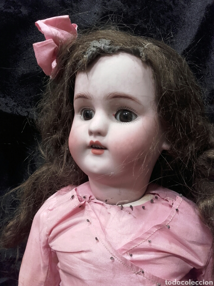 Muñecas Porcelana: PRECIOSA MUÑECA SIMÓN & HALBIG. HACIA 1910. - Foto 3 - 138754633