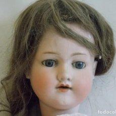 Muñecas Porcelana: ANTIGUA MUÑECA PORCELANA Y CUERPO COMPUESTO ARMAND MARSEILLE 70 CM APROX. MARCA 390 9. Lote 138871334
