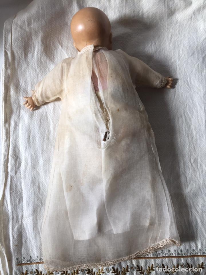Muñecas Porcelana: MUÑECA BEBÉ DE PORCELANA Y CUERPO DE TRAPO 24CM. OJOS MOVILES. 190X - Foto 5 - 139475417