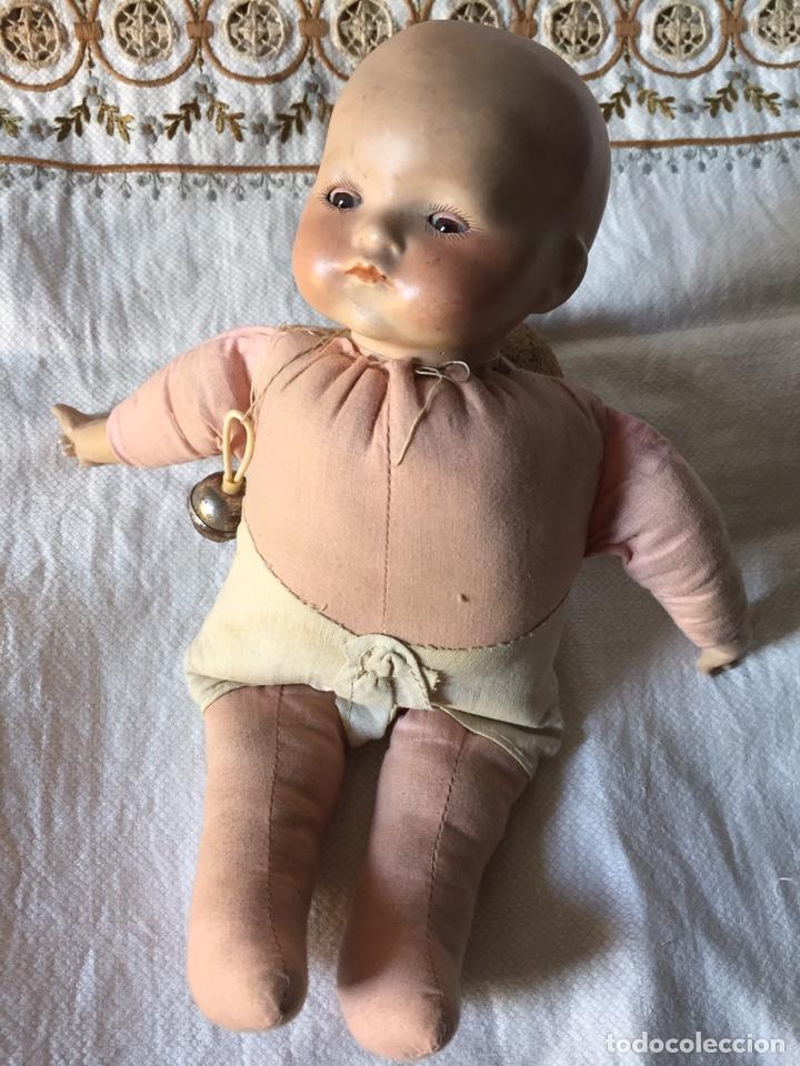 Muñecas Porcelana: MUÑECA BEBÉ DE PORCELANA Y CUERPO DE TRAPO 24CM. OJOS MOVILES. 190X - Foto 17 - 139475417