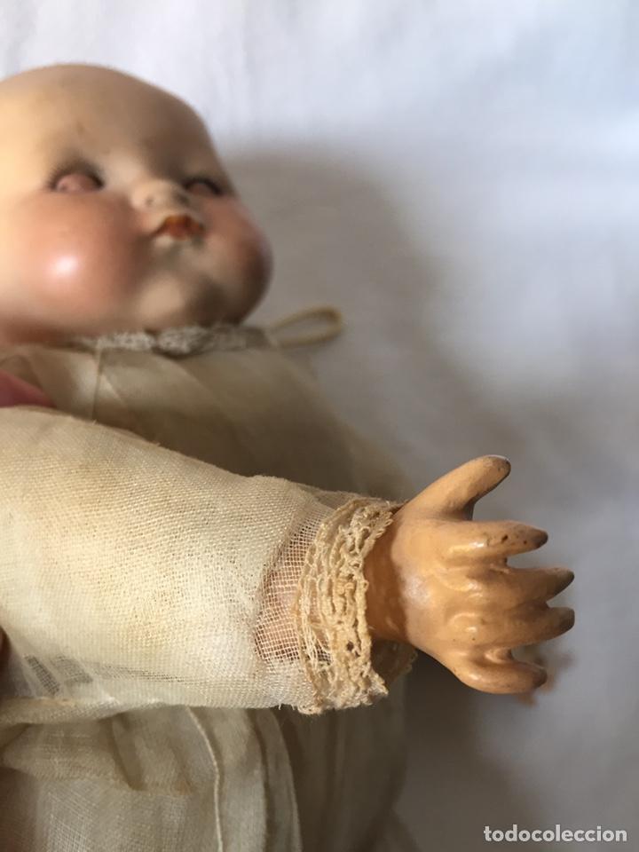Muñecas Porcelana: MUÑECA BEBÉ DE PORCELANA Y CUERPO DE TRAPO 24CM. OJOS MOVILES. 190X - Foto 34 - 139475417