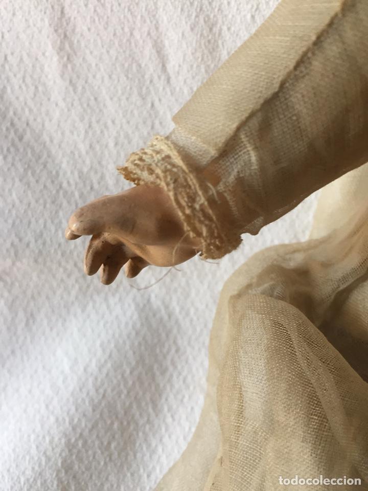 Muñecas Porcelana: MUÑECA BEBÉ DE PORCELANA Y CUERPO DE TRAPO 24CM. OJOS MOVILES. 190X - Foto 36 - 139475417