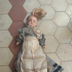 Muñecas Porcelana: ANTIGUA MUÑECA XIX. Lote 139897066
