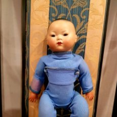 Muñecas Porcelana: ANTIGUO MUÑECO ORIENTAL MARCA GERMANY. Lote 140049185