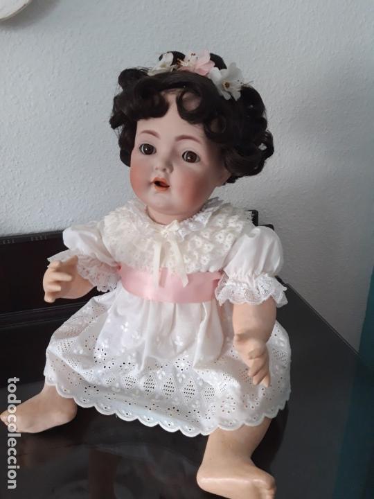 Muñecas Porcelana: PRECIOSA MUÑECA BEBE K&R ,SIMON HALBIG 121 ,MARCADA (PIEZA MUY VALORADA ) - Foto 2 - 140144102