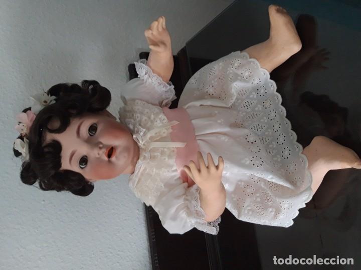 Muñecas Porcelana: PRECIOSA MUÑECA BEBE K&R ,SIMON HALBIG 121 ,MARCADA (PIEZA MUY VALORADA ) - Foto 6 - 140144102