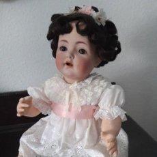 Muñecas Porcelana: PRECIOSA MUÑECA BEBE K&R ,SIMON HALBIG 121 ,MARCADA (PIEZA MUY VALORADA ). Lote 140144102