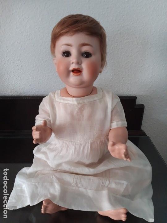 Muñecas Porcelana: BEBE PORCELANA ANTIGUO BURGGRUB 169 (GERMANY) PORZENLLAMBRICK,MARCADA(SIN REPINTES ,NI RESTAURACION - Foto 3 - 140145910