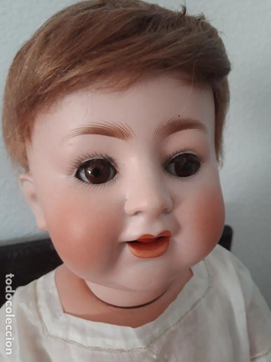 Muñecas Porcelana: BEBE PORCELANA ANTIGUO BURGGRUB 169 (GERMANY) PORZENLLAMBRICK,MARCADA(SIN REPINTES ,NI RESTAURACION - Foto 4 - 140145910