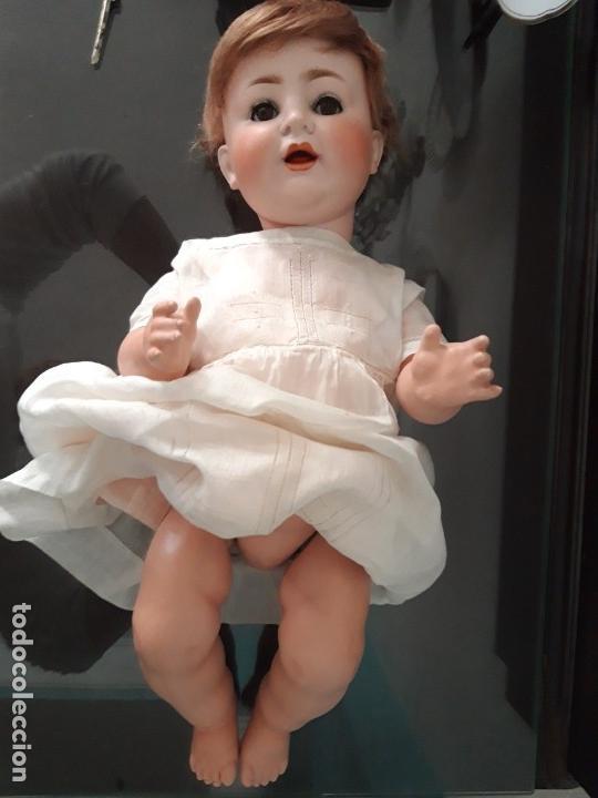 Muñecas Porcelana: BEBE PORCELANA ANTIGUO BURGGRUB 169 (GERMANY) PORZENLLAMBRICK,MARCADA(SIN REPINTES ,NI RESTAURACION - Foto 7 - 140145910