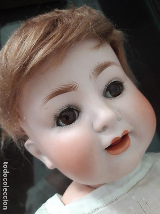 Muñecas Porcelana: BEBE PORCELANA ANTIGUO BURGGRUB 169 (GERMANY) PORZENLLAMBRICK,MARCADA(SIN REPINTES ,NI RESTAURACION - Foto 8 - 140145910