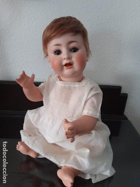 Muñecas Porcelana: BEBE PORCELANA ANTIGUO BURGGRUB 169 (GERMANY) PORZENLLAMBRICK,MARCADA(SIN REPINTES ,NI RESTAURACION - Foto 9 - 140145910