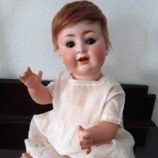 Muñecas Porcelana: PRECIOSO BEBE DE PORCELANA ANTIGUO BURGGRUB 169 (GERMANY) PORZENLLAMBRICK,MARCADA. Lote 140145910