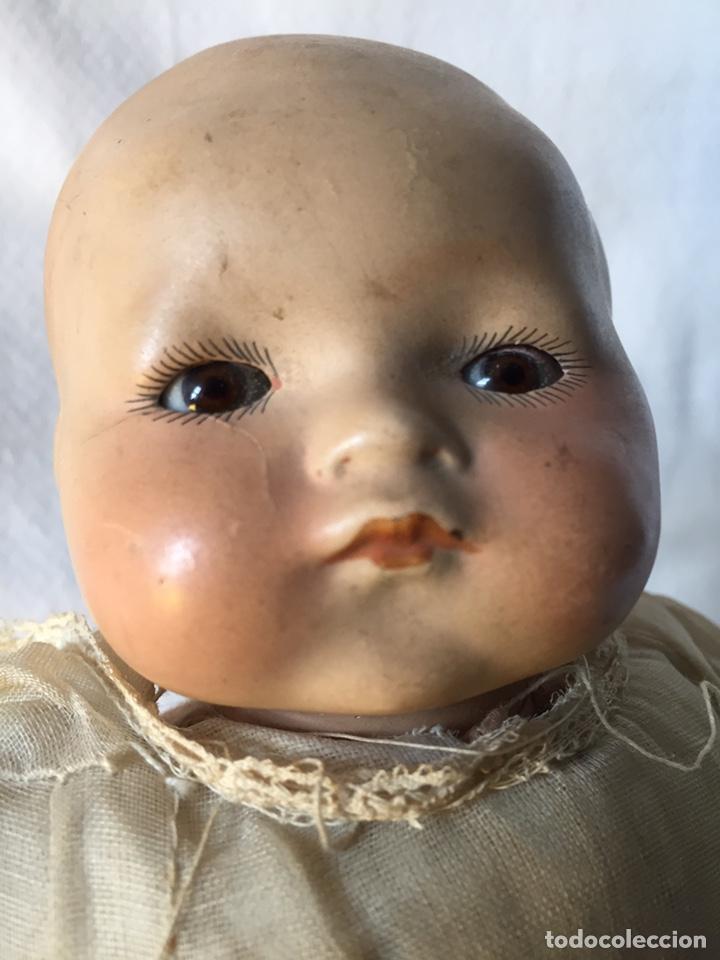 Muñecas Porcelana: MUÑECA BEBÉ DE PORCELANA Y CUERPO DE TRAPO 24CM. OJOS MOVILES. 190X - Foto 4 - 139475417