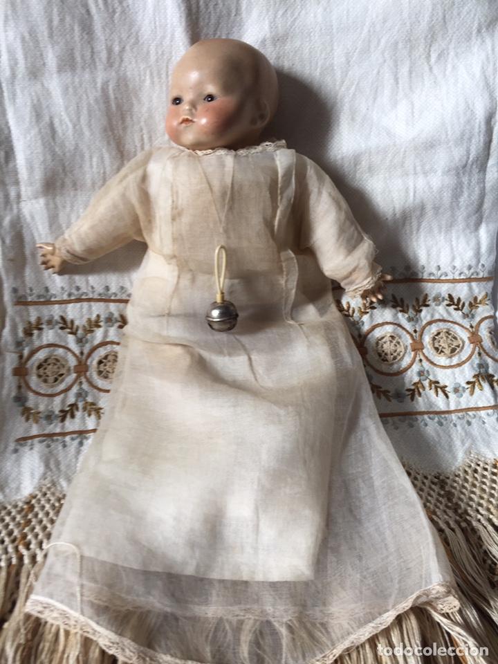 Muñecas Porcelana: MUÑECA BEBÉ DE PORCELANA Y CUERPO DE TRAPO 24CM. OJOS MOVILES. 190X - Foto 2 - 139475417