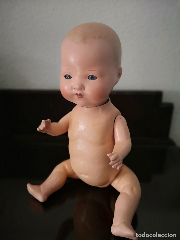 Muñecas Porcelana: PRECIOSO BEBE ARMAND MARSELLE 40 CM AÑOS 30,VA MARCADO - Foto 4 - 141310058