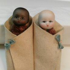 Muñecas Porcelana: BEBES EN SAQUITO. Lote 124315607
