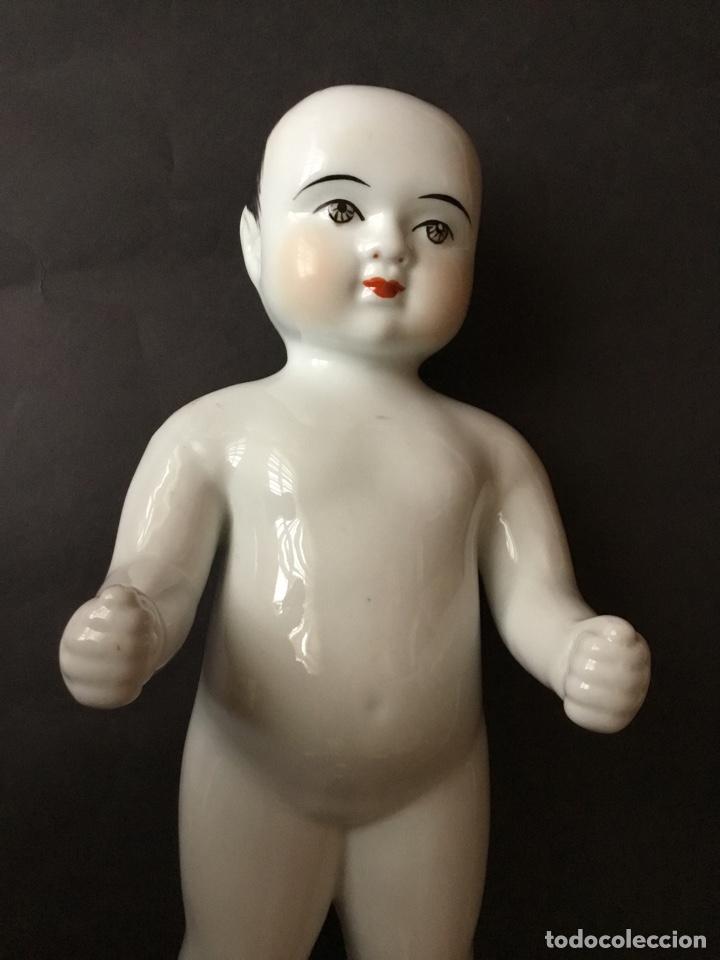 Muñecas Porcelana: Badepuppe o Frozen Charlie 30 cm, muñeco de baño - Foto 4 - 141558272
