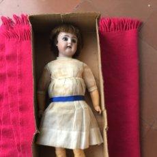 Muñecas Porcelana: MUÑECA DEP CABEZA DE PORCELANA. Lote 142185545